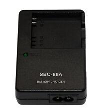 Hot SBC-88A Travel Battery Charger For BP88A Samsung DV200 DV300 DV300F DV900