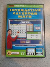 Lakeshore Interactive Whiteboard Software HH764 Interactive Calendar Math Gr 1-2