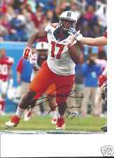 JIHAD WARD ILLINOIS FIGHTING ILLINI SIGNED 8X10 PHOTO W/COA