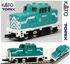 KATO by TOMIX 2027 LOCOMOTORE DIESEL POLIFUNZIONALE EMERALD GREEN in BOX SCALA-N