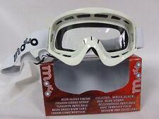 X1 MOTO KIDS OFF WHITE MOTOCROSS QUAD BIKE KART OFF WHITE Goggles(4-10yrs)NEW