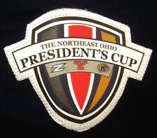 UNIVERSITY AKRON Zips small polo shirt NE Ohio President's Cup soccer Adidas