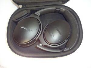 Bose QuiteComfort 25 Black Acoustic Noise Cancelling Headphones Carrying Case