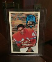 1970 FLOYD LITTLE KELLOGGS 3D SUPER STARS FOOTBALL CARD #32