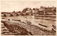uk32419 thomond bridge limerick ireland real photo