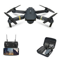 Drone X Pro Foldable Quadcopter WIFI FPV 720P Wide-Angle HD Camera 3 Batteries