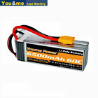 22.2V 6S 6500mAh LiPo Battery 60C XT90 for RC Helicopter Airplane Truck Boat
