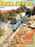 LOCO REVUE 522 DE 1990. LA MARQUISE PLM DE FALLER
