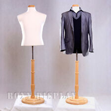 Male Mannequin Manequin Manikin Dress Form #Jf-Mbsw+Bs-R01N
