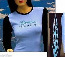 T-Shirt femme ML GENUINE EQUIPEMENT - Taille S - Style BIKER HARLEY