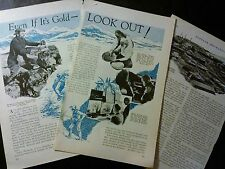 Apr 1932 Magazine Page- Even If It'S Gold, Look Out! 3 Pgs
