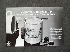 F876 - Advertising Pubblicità - 1988 - LECITINA DI SOIA MARCO VITI