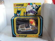 PENGUINMOBILE PENGUIN  PINGUIN BATMAN CORGI 259 - 1978 NIB NEUF BOITE DC COMICS