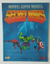 Unused Leaf Secret Wars Marvel Super Heroes Sticker Album - Excellent Condition!