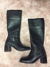 Hugo Buscati Leather Boots Women's Size 6