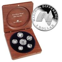 2003 Fine Silver Coin Year Set Volunteers Making a Difference Australia