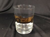 Vintage Cadillac 1928 Vee-Eight Old Fashioned Rocks Glass