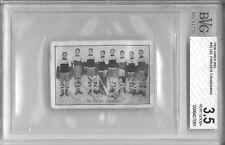 1926 Greiling CANADIAN HOCKEY #35 BVG 3.5 VG+ German Vintage Hockey Card
