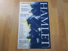 HAMLET Limited Season inc Ken STOTT Original PICCADILLY Theatre Poster