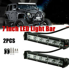 "2*7"" 36W LED Light Bar Flood Spot Combo Driving Lamp Car Truck Offroad FOG SUV"