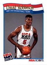 David Robinson 1991-92 NBA Hoops #583 - Dream TEAM USA/ SAN ANTONIO SPURS/ NAVY