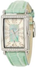 Gevril Womens 7246NT Avenue of Americas Green Mother Of Pearl DIAMONDS Watch