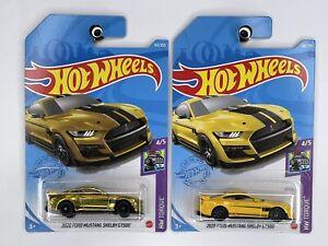 Hot Wheels 2021 Super Treasure Hunt '20 FORD MUSTANG SHELBY GT500 - Plus Regular