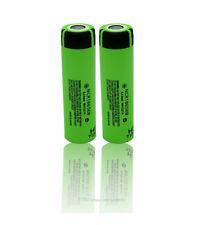 2 x Panasonic NCR18650B Lithium Li-Ion  Akku 3,6 3,7V 3400mAh lose ohne Schutz