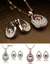 Unbranded Rose Gold Plated Fashion Jewellery Sets