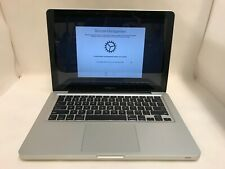 "Apple MD101LL/A MacBook Pro 13"" 2012 Core i5 2.5GHz 4GB RAM 500GB REMOTE MANAGMT"