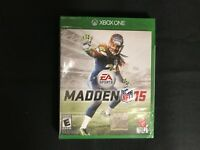 Madden NFL 15 (Microsoft Xbox One, 2014) Brand New Factory Sealed