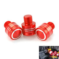M10 Universal Motorcycle Rearview Mirror Hole Plugs Screws Caps For Yamaha BMW