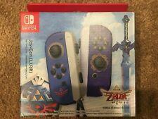 New Nintendo Switch Joy-Con Controllers Legend of Zelda Skyward Sword HD Edition