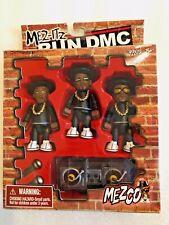 NEW Mez-Itz Mezco Run DMC Figures Set Toys R Us 2002 - Black Track Suits