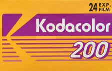 10 Kodak Colour Expired 35mm Camera Film, Kodacolor 200, Lomography, Festival