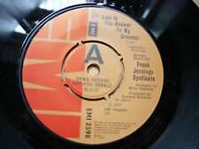 """Frank Jennings Syndicate Love Is The Answer (To My Dreams) EMI Demo 1977 7"""""""
