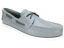 Tommy Hilfiger Men's Bowman Boat Shoes Gray Multi Leather Size 13 M