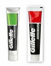Combo of Gillette Shaving Cream - Regular and Lime 70 grams 2.46 oz each -1 each