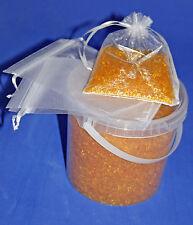 1,2,4 kg Silica Gel Orange regenerierbar, Trockenmittel mit Indikator, Silikagel