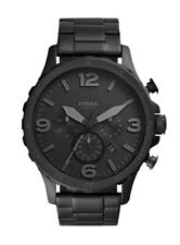 FOSSIL Q Nate, Hybrid Smartwatch, Stainless Steel, Black NEW