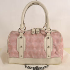 Authentic MCM Diamond Pattern Tote Bag + Dust Cover