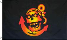 Pirate Anchor Flag 5 x 3 Ft Flag