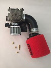 Honda Ruckus 49cc intake kit UNI Filter idle main JETS nps50 carburator Gy6 50cc