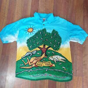 Mambo Loud Shirt - Australian Beer Tree - Reg Mombassa - Size Large