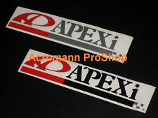 "2x8.5""21.6cm APEXi APEX decal sticker JDM USDM door roll call tuner drift d1 car"
