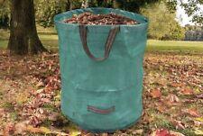 Garten Abfallsack 270 Liter Laubsack Gartensack XXL Gewebesack Abfall Tasche