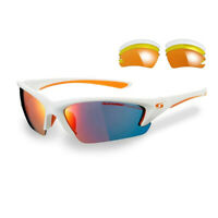 Sunwise Unisex Equinox RM Sunglasses - White Sports Running Lightweight