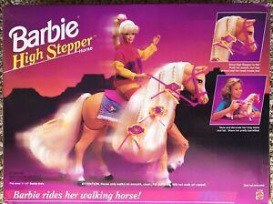1994 Mattel Barbie High Stepper Horse 11766 Walking Prances Ages 3+