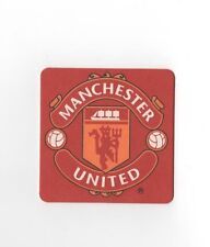 MANCHESTER UNITED pack of Crested Beer Mats FREE POSTAGE UK