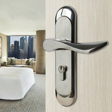 304 Stainless Steel Privacy Door Security Entry Lever Mortise Handle Locks Set